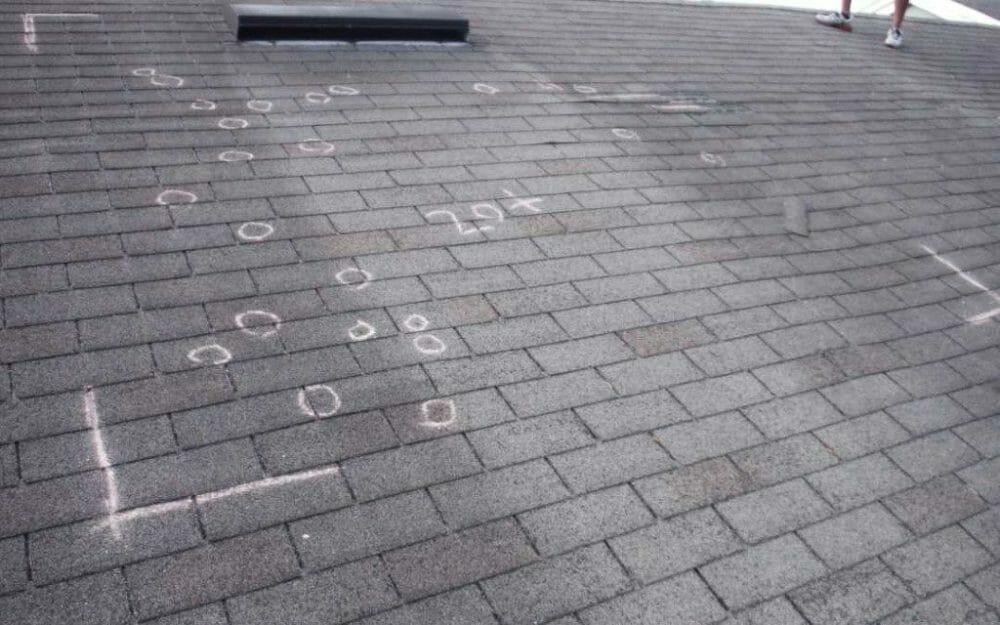 hail damage shingle roof sol vista roofing