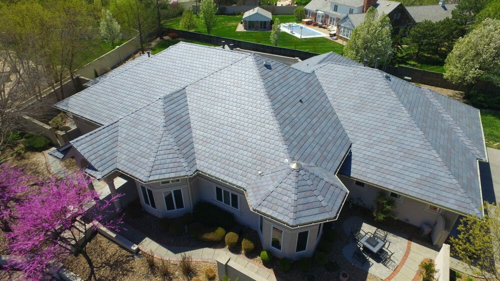 DaVinci Bellaforte Slate European Sol Vista Roofing